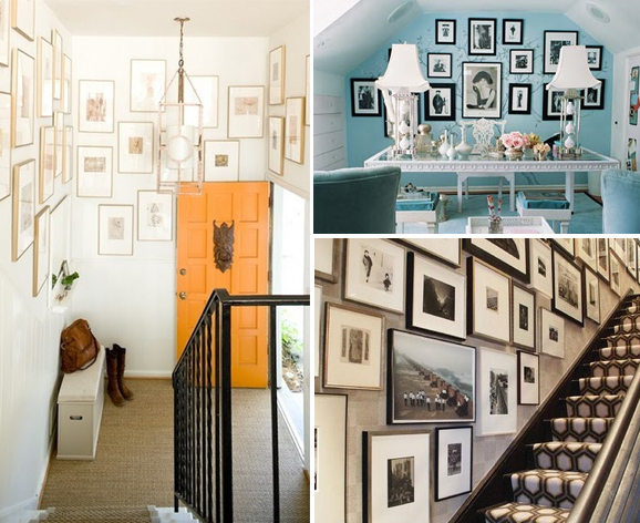 Gallery Walls and Picture Frames