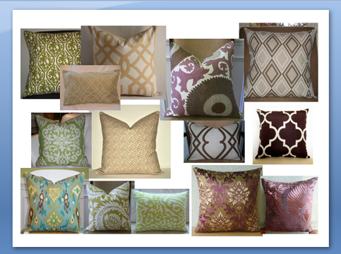 throw pillow mania