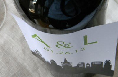 custom bottle labels