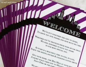 personalized bridesmaid wine label