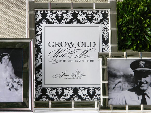 grow old label