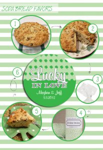 soda bread favors labels
