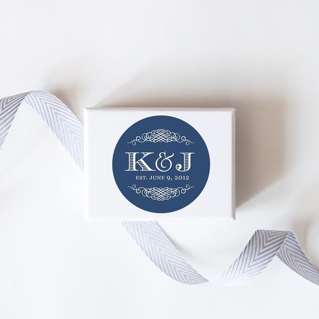 personalized wedding labels
