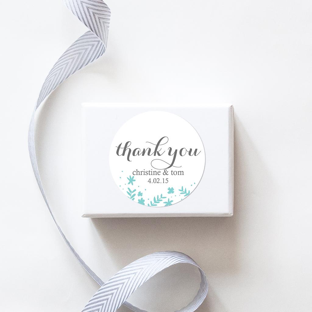 Spring TouchCustom Wedding Stickers - Sweet Sanity