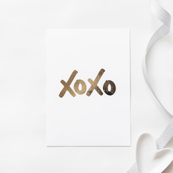 xoxo gift labels