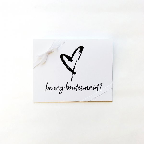Bridesmaid note card