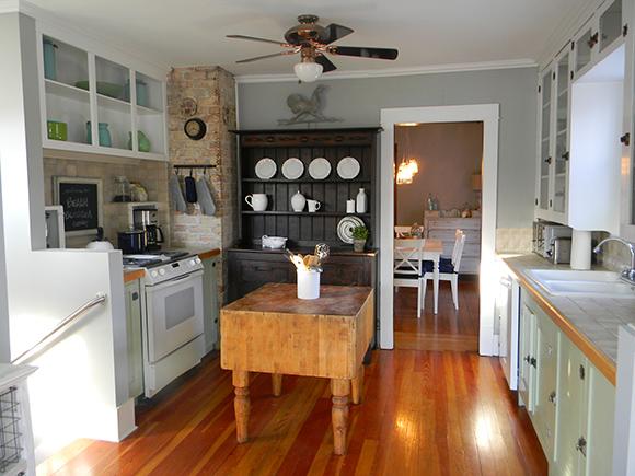 Cottage Kitchen in Gray