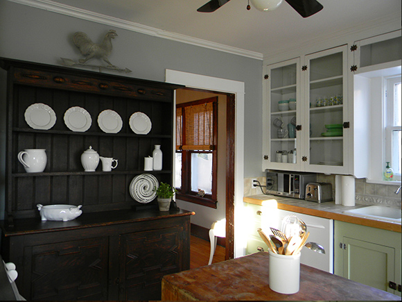 Coventry Gray Kitchen